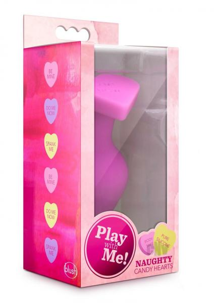 Play W/ Me Naughty Candy Heart Pink